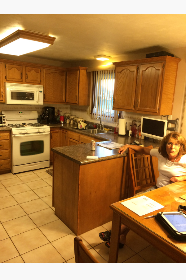 Kitchen Interior Design Before